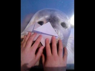 DIY Origami Fisch