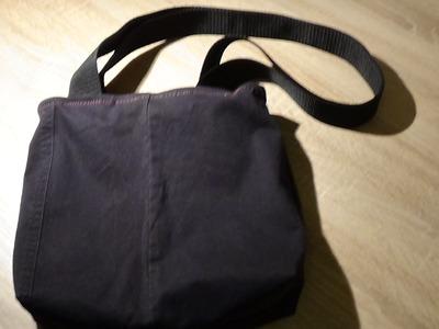 Handtasche Nisha Tasche nähen Anleitung DIY Upcycling inkl. Schnittmuster #UniKati89