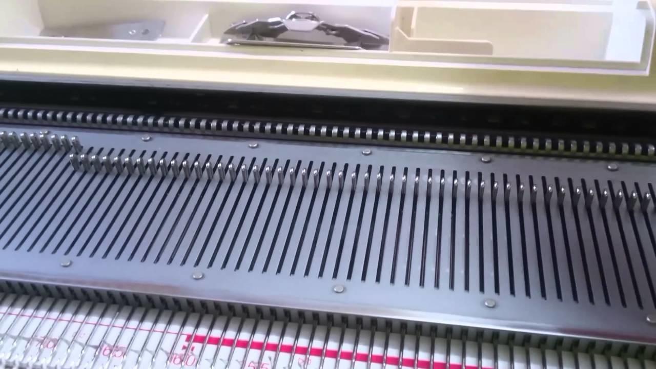 Brother Strickmaschine Kragen mit Elektrikschlitten KG