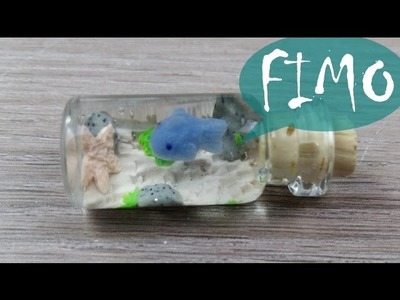 Das Mini Aquarium ~ Fimo. Polymerclay. Tutorial