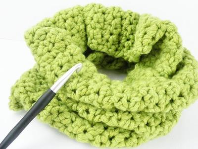 Loop Schal für den HERBST | Tolles Muster aus festen Maschen & halben Stäbchen | Schlauchschal