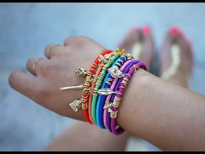 Armband selber machen. Schmuck selber machen armband. Armband selber basteln.
