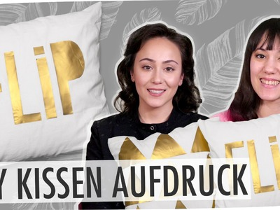 #flipdiy | Kissen selbst bedrucken mit breedingunicorns & Hatice Schmidt