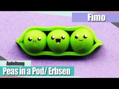 IFimo FridayI Kawaii Peas in a Pod.Erbsen I Anielas Fimo