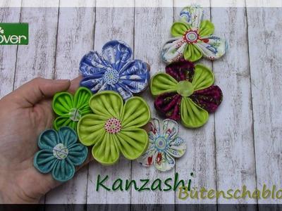 Kanzashi Blütenschablonen von Clover