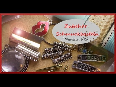 Zubehör Schmuckbasteln: Verschluss & Co
