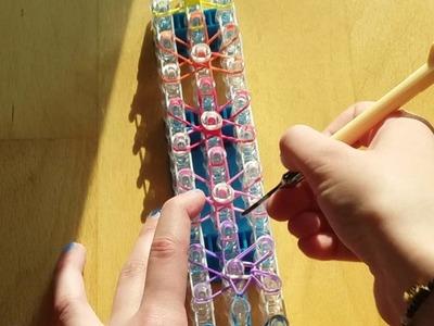 Sternen Armband - Rainbow Loom