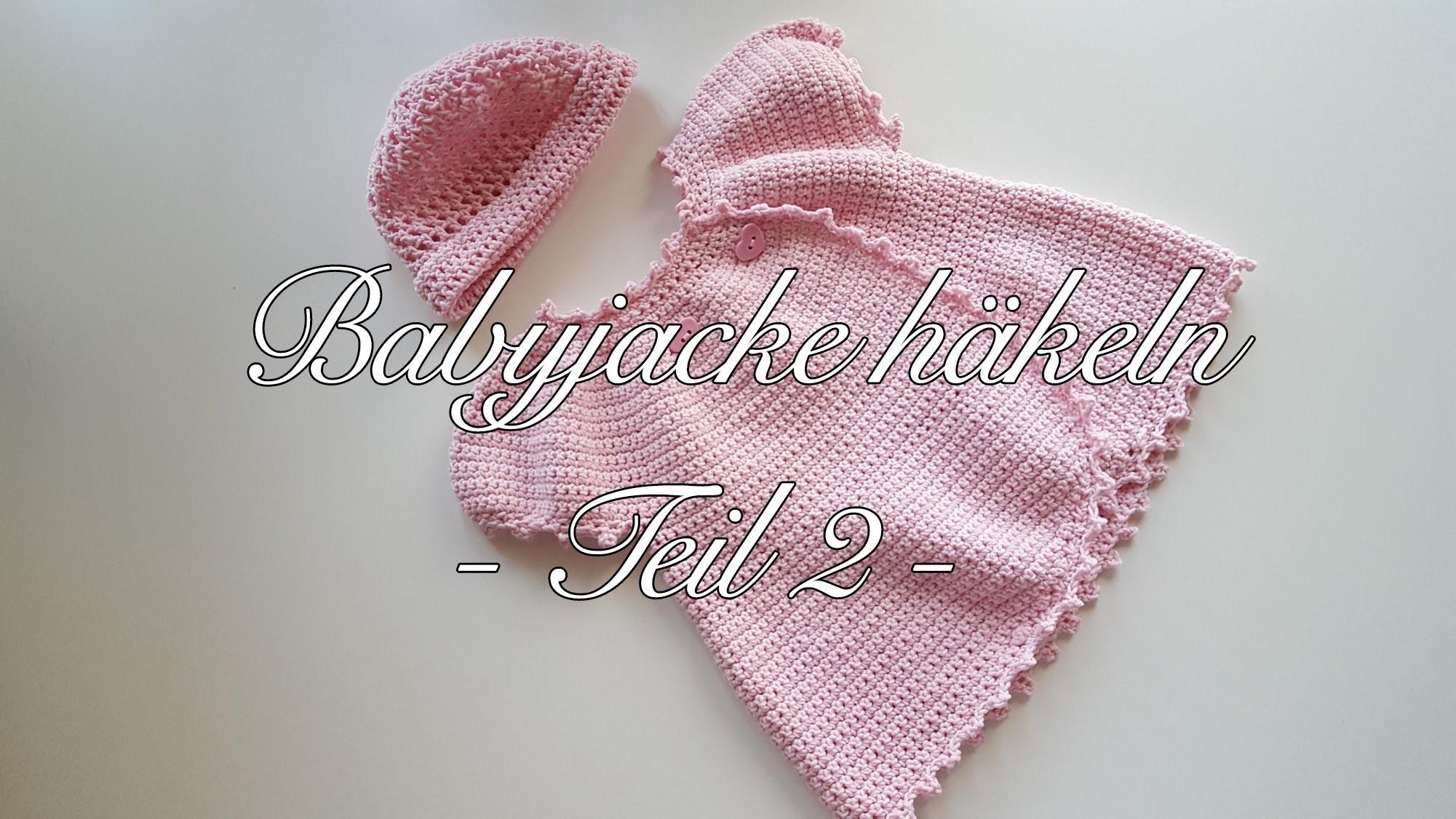 Babyjacke Häkeln Anleitung Häkeljacke Baby Anleitung