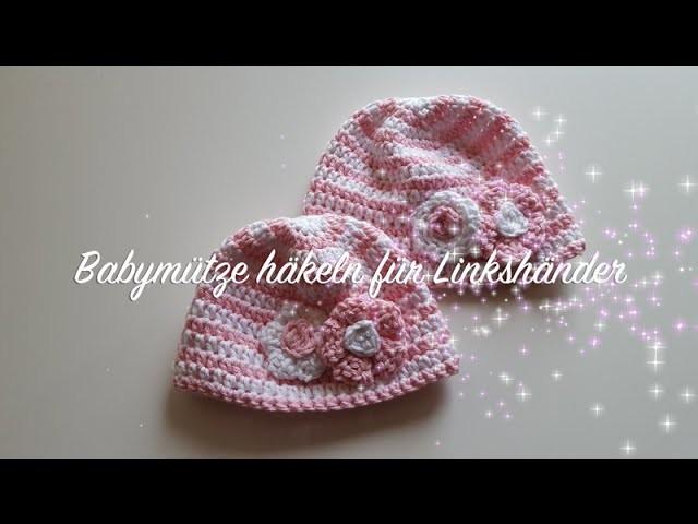 Babymütze Häkeln Für Anfänger Linkshänder Myboshi Baby Mütze Iwaki