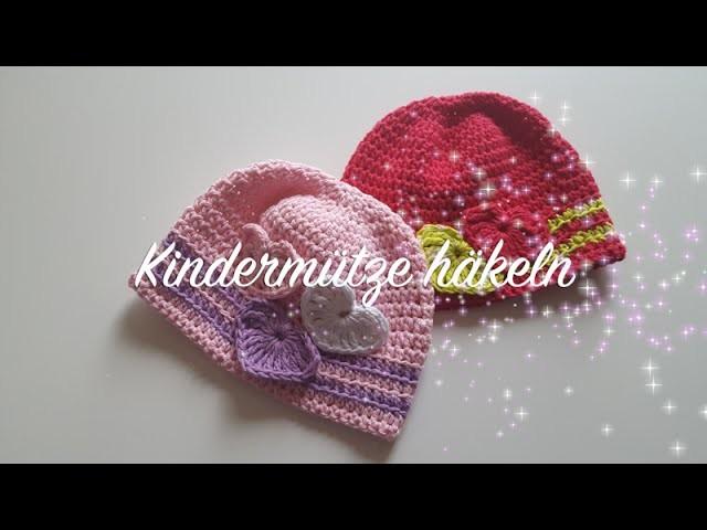 Kindermütze häkeln für Anfänger Anleitung - Takatsuki Mütze häkeln - Häkelmädel