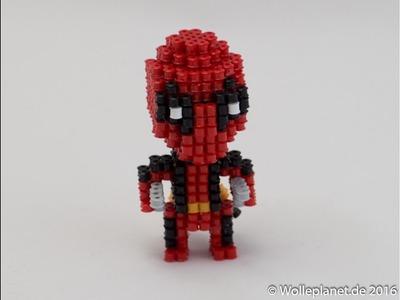 Perler Bead 3D Deadpool