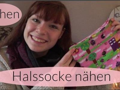 Halssocke nähen I Loop für Kinder I Nähen für Anfänger I Deutsch - Finola 2016