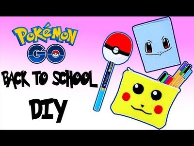 POKÉMON GO BACK TO SCHOOL DIYS | EOS ANSPITZER, PIKACHU MÄPPCHEN SELBER MACHEN | KINDOFROSY