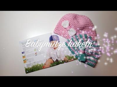 Babymütze häkeln - MyBoshi Häkelanleitung Boshi Mini für Babys - Häkelmädel