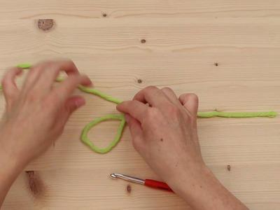 Häkeln lernen mit myboshi - Die leichte Anfangsschlinge