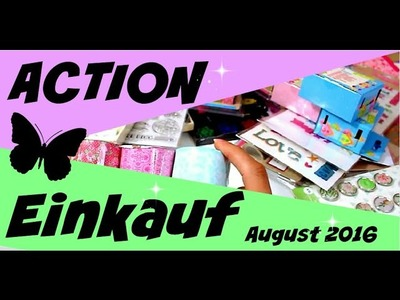 ACTION HAUL Einkauf Bastelbedarf Deko | 9999 Dinge - DIY, Basteln & Trends