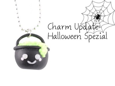 [Fimo] Charm Update #18: Halloween Spezial 2013 & Giveaway | Anielas Fimo
