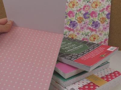 HAUL Musterpappen - Kathi zeigt euch 9 NEUE Musterpappenblöcke von Action | Weihnachten