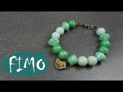 Perlen aus Fimo. Armband ~ Fimo. Polymerclay. Tutorial