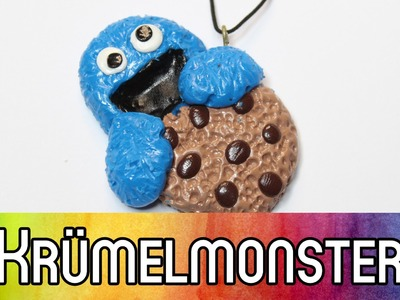 Polymer Clay | Fimo Tutorial: #Grenzgeniales Krümelmonster (Cookie Monster) | kreativBUNT