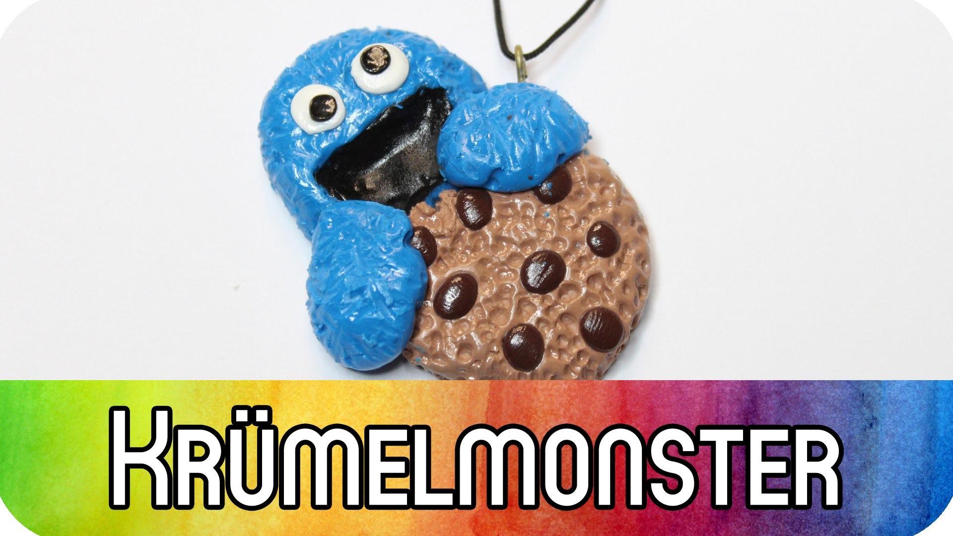 Polymer Clay | Fimo Tutorial: #Grenzgeniales Krümelmonster (Cookie Monster) | kreativBUNT