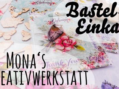 [VLOG | Haul] Bastel-Einkauf bei Mona's Kreativwerkstatt & Pocket Letter :)