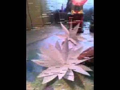 3D - Papier Blume basteln