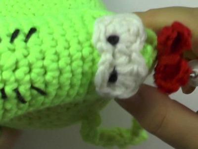 Häkeln Molly Monster aus der Sesamstraße Teil 3 - Veronika Hug