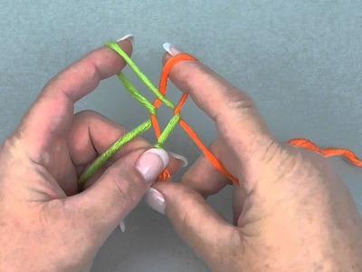 Myboshi - eine Kordel knüpfen