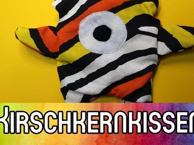 DIY Nähen für Anfänger: Kirschkernkissen-Monster nähen | kreativBUNT