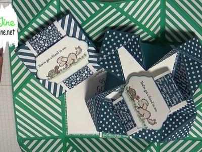 Stampin`Up! - Napkin Fold Card