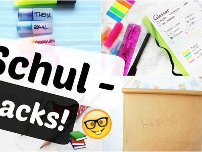 10 SCHOOL LIFE HACKS! Besser lernen für Schule und Uni I Ashley Forsson