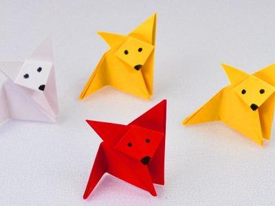 Fuchs Falten | Origami Fox | Super einfach & super niedlich | Bastelidee