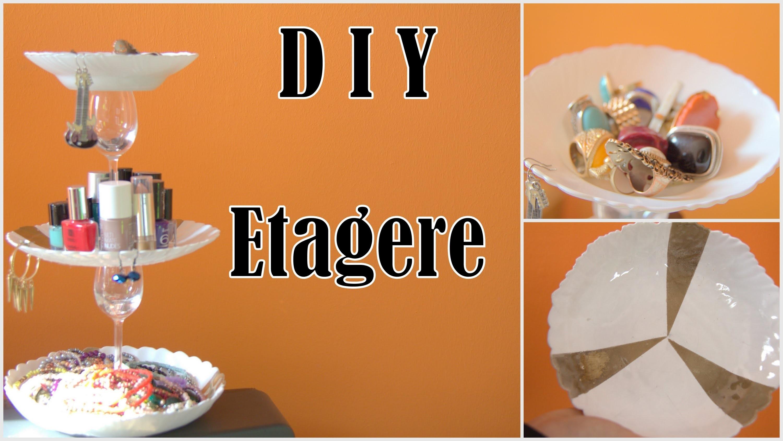 ✿ DIY Etagere (3 Stöckiger Schmuckständer) ✿