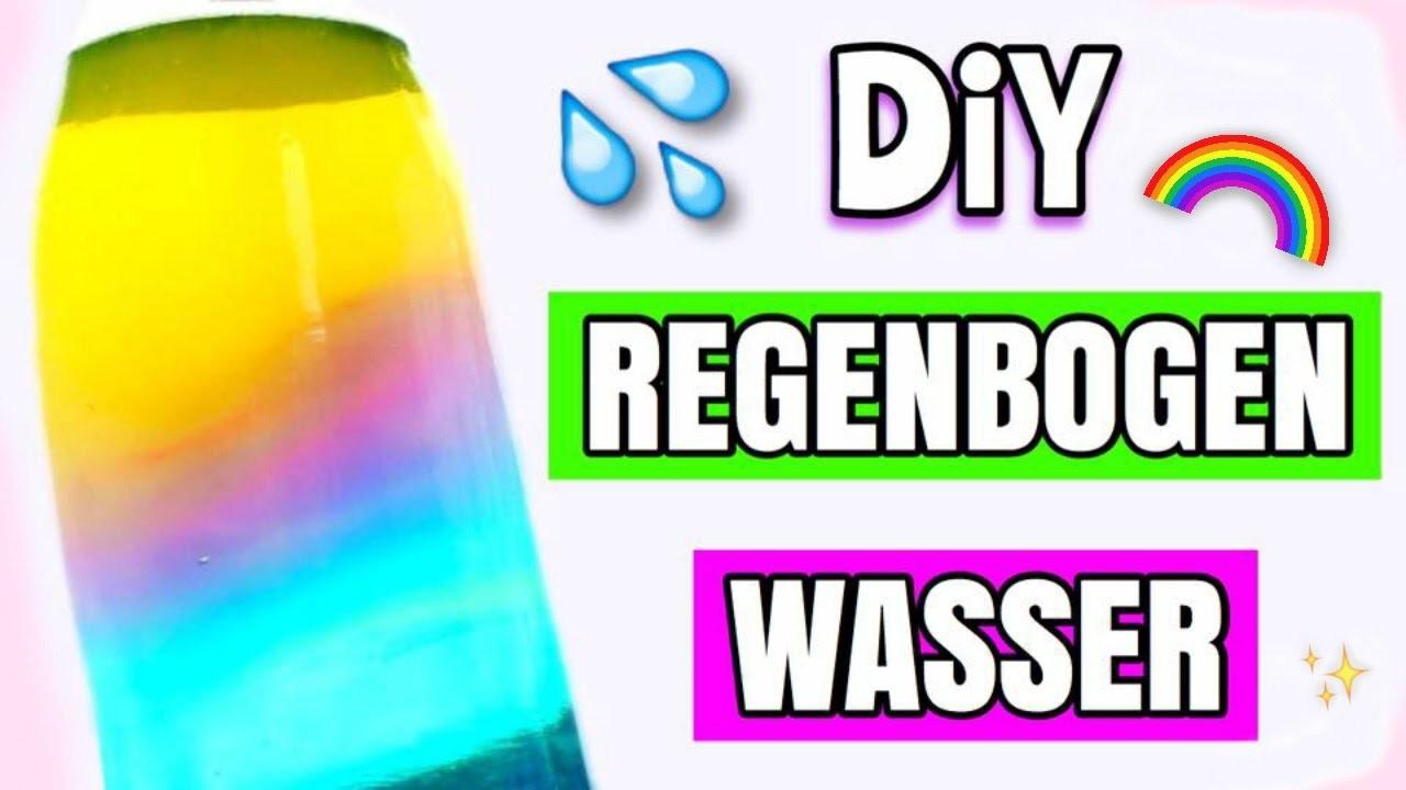 diy regenbogen wasser selber machen. Black Bedroom Furniture Sets. Home Design Ideas