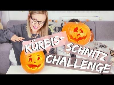 Die HALLOWEEN Kürbis-Schnitz-CHALLENGE | ViktoriaSarina