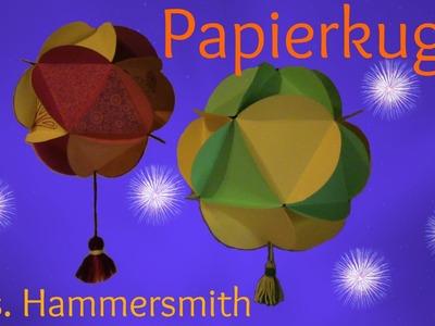 DIY Papierkugel Mrs. Hammersmith