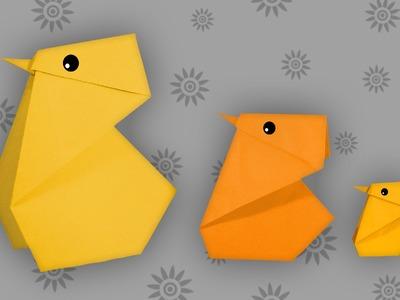 Origami Küken: Cute Chick - Faltanleitung (Live erklärt)