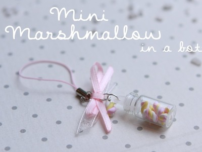 MINI Marshmallows in a BOTTLE  | FIMO Tutorial