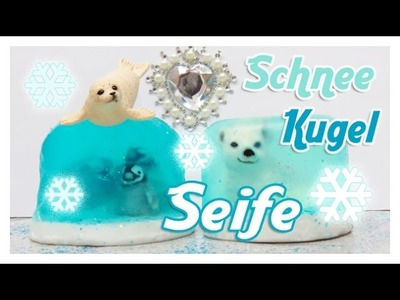 DiY Schnee Kugel Seife. DiY Snow Globe Soap