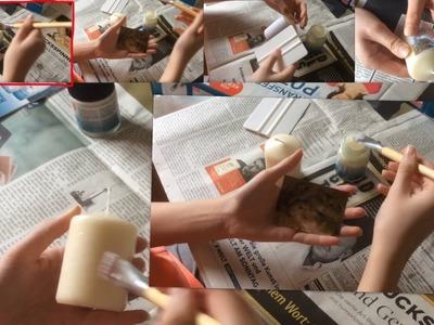 DIY Test: Foto auf Kerze übertragen | sophies-happy-hamsters