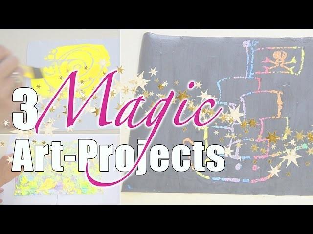 3 magische Kunstwerke für Kinder | Magic Art 4 Kids | mamiblock - Der Mamiblog