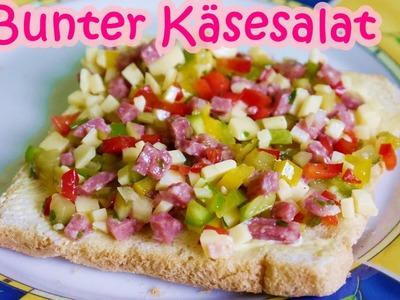 Bunter Käsesalat | Perfekter Party-Salat | Rezept