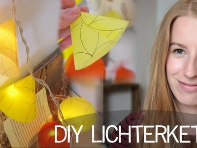 DIY Lichterkette - Papier lichtdurchlässig machen - Weihnachtsgeschenk
