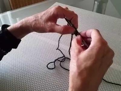 Stricken lernen - rechte und linke Maschen und Maschen anschlagen