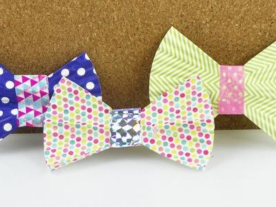 Schleife aus Muffin Papier | Basteln mit Muffin Förmchen | Geschenk & Deko Idee