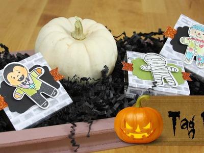 12 Tage Halloween #01 - Verpackungen mit Produkten von Stampin' Up!
