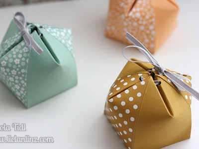 Anleitung: Kuppelbox. Domebox | Stampin' Up!