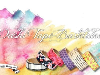 [DIY] Einfache Washi.Masking Tape Ideen