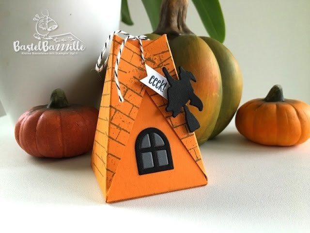 Tutorial Halloween Treat Bag. Halloween Verpackung with Stampin' Up!